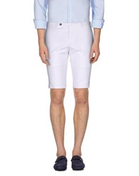 Hilton Trousers Bermuda Shorts Men White