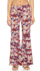 Sofia By Vix Palm Springs Ruffle Pants