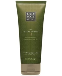 Rituals The Ritual Of Dao Soothing Night Balm 2.3 Oz. No Color