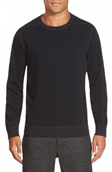 Vince Fleece Crewneck Sweatshirt Black