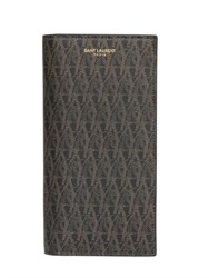 Saint Laurent Monogram Faux Leather Wallet