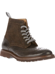 Brunello Cucinelli Ankle Boot Brown