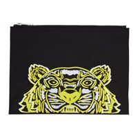 Kenzo Black Limited Edition High Summer Capsule A4 Pouch