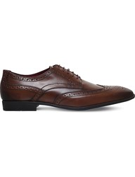 Kg By Kurt Geiger Eugene Leather Brogues Tan