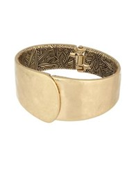 The Sak Overlap Bangle Bracelet Gold