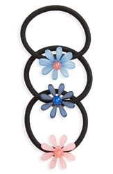 Tasha Set Of 3 Floral Ponytail Holders