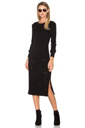 Cotton Citizen The Monaco Midi Dress Black