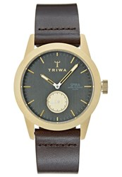 Triwa Spira Watch Dark Brown Classic