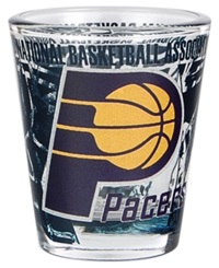 Hunter Manufacturing Indiana Pacers 3D Wrap Collector Glass Team Color