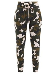 The Upside Forest Camo Drawstring Leggings Multi