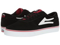 Lakai Manchester Black Red White Suede Men's Shoes