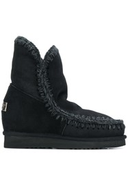 Mou Inner Wedge Boots Black