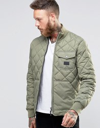 Lee Quilted Jacket Lichen Green Lichen Green