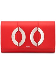 Perrin Paris Hand Holster Wallet Red