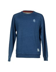 Supreme Being Topwear Sweatshirts Men Blue