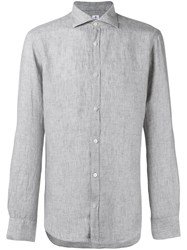 Danolis Spread Collar Shirt Grey