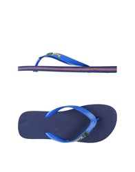 Fk Project F K Toe Strap Sandals Blue