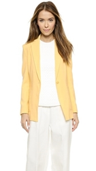 3.1 Phillip Lim Cutaway Button Blazer Buttercup