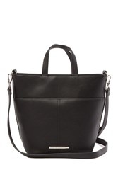 Steve Madden Becks Small Bucket Crossbody Bag Black