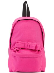 Comme Des Garcons Girl Bow Detail Backpack Pink Purple