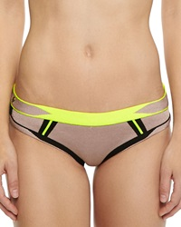 Herve Leger Lyyti Neon Bikini Bottom Medium 8