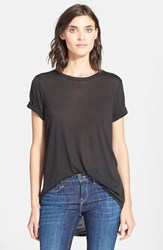 Women's Vince Roll Sleeve Tee