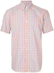 Gieves And Hawkes Gingham Button Down Shirt Multicolour