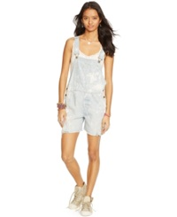 Denim And Supply Ralph Lauren Amalia Short Overalls