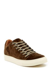 John Varvatos 315 Reed Low Top Velvet Sneaker Copper
