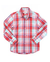 Appaman The Standard Plaid Shirt Size 2 14 Pink