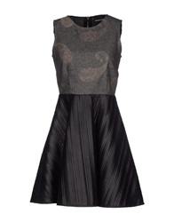 Mauro Gasperi Short Dresses Grey