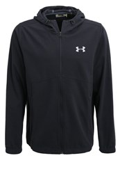 Under Armour Tracksuit Top Black Silver