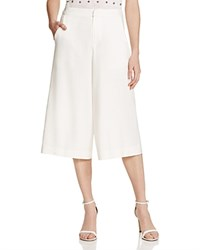 Alice Olivia Marlena Gaucho Pants Off White