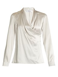 Max Mara Vitalba Blouse Light Grey