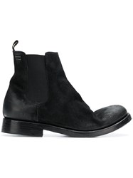 The Last Conspiracy Worn Effect Ankle Boots Black