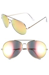 Women's Bp. 65Mm Oversize Aviator Sunglasses