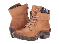 Bionica Romulus New Caramel Purple Women's Lace Up Boots Brown