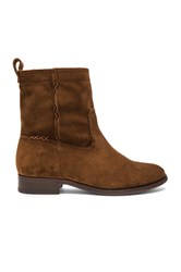 Frye Cara Short Boot Brown