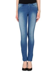 Stefanel Casual Pants Blue