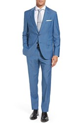 Boss Men's Jewels Linus Trim Fit Solid Wool Suit