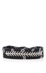 Fallon Monarch Bandana Choker Black