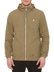 Original Penguin Waxed Festival Jacket Burnt Olive