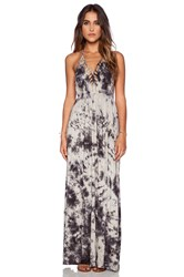 Raga Cloud Gazer Halter Maxi Dress Gray