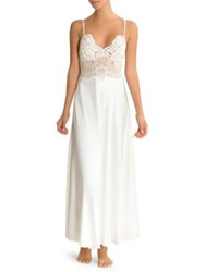 Jonquil Lace Slip Gown Ivory
