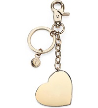 Aspinal Of London Gold Plated Heart Keyring
