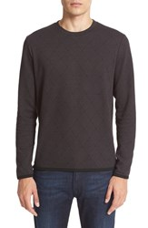Armani Collezioni Men's Textured Crewneck Sweater