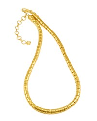 Vertigo 24K Gold Single Strand Necklace Gurhan Red