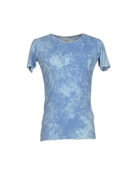 Prim I Am Topwear T Shirts Men Pastel Blue