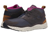 Reebok Furylite Chukka So Gravel Stone Sepia Fierce Fuchsia Paper White Batik Blue Black Men's Shoes Brown