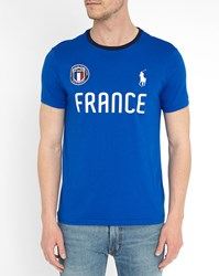 Polo Ralph Lauren Royal Blue France Country T Shirt